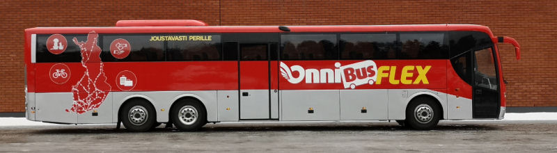 Bussi Vyöhykkeet