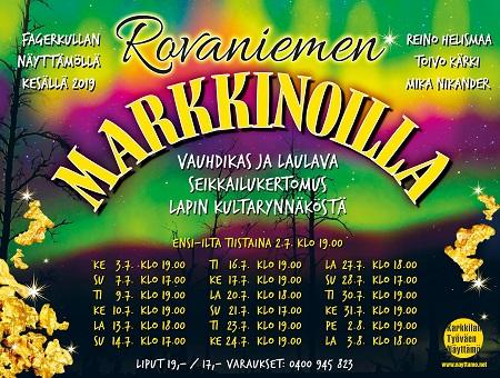 Rovaniemi tapahtumat kesäkuu 2019